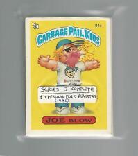 1986 Original Garbage Pail Kids 3th Series (OS6) Complete Set - All 88 Varieties