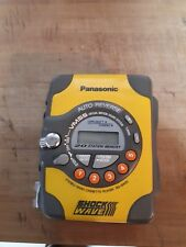 Vintage Panasonic Shock Wave Cassette Player Walkman Portable Stereo RQ- SW5V