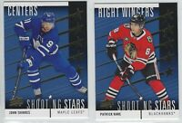 2019-20 Upper Deck Series 1 SHOOTING STARS Inserts Complete Your Set - You Pick