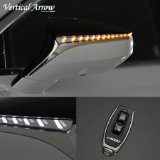 For LEXUS LS500/500h Turn Signal Lights LED For Side Mirrors DRL Blue