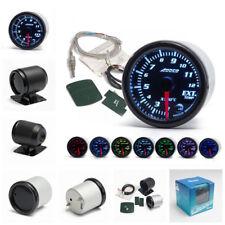 "7 Color LED 2""/52mm Car Exhaust Gas Temp Gauge Ext Temp Meter EGT With Sensor"