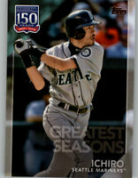 2019 Topps Series 1 150 Years Greatest Seasons #150-104 Ichiro Mariners