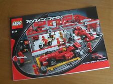 Lego Racers 8144 Ferrari 248 F1 Team - Instructions only !!!!!!!!!!!!!!!!!!!!