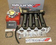 Skunk2 Black Ultra Intake Manifold+70mm Throttle Body 94-97 Honda Delsol Si VTEC