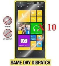 10 X Nokia lumia 1020 Anti-Glare Matte Screen Protectors Film Cover Saver& Cloth