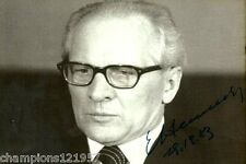Erich Honecker ++Autogramm++ ++Vorsitzender der DDR++2
