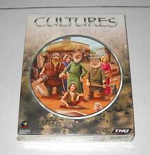 Gioco Pc Cd - CULTURES – raro 1 ed 2000 in BOX Vichinghi