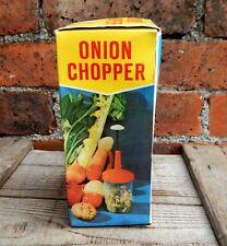 Vintage Retro Onion Vegetable Chopper Cutter Boxed - Kitchenalia