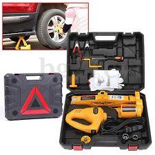 12V Electric Scissor Lifting Jack Car Impact Wrench Tire Change Repair Tool 2Ton