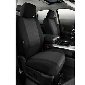 Fia OE37-34 CHARC Front Bucket Seat Cover for Ford F-150 / F-250 Super Duty