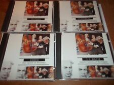 4 Classical Collections cd Schubert J.S.Bach Grieg Handel FREE POST