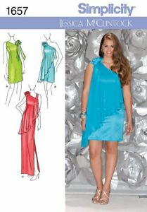 Simplicity 1657 AA Special Occasion dress Sewing Pattern US8-16 BUY 1 GET 1 FREE