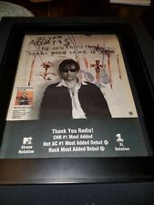 Bryan Adams The Only Thing That Looks Good Rare Radio Promo Poster Ad Framed!