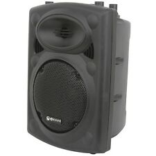 "QTX Sound QR8K Active Powered 80W Watt 8"" Moulded PA Speaker QRK Series"