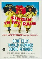 Singing In The Rain Vintage Movie Large Poster Art Print Maxi A1 A2 A3 A4