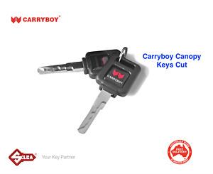 Keys Cut For Carryboy Canopy Locks -PLEASE READ!