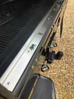 Stainless Steel Bison Rear Door Carpet Retainer Trim Land Rover Defender 90/110