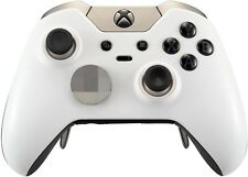 Matte White Xbox One ELITE Rapid Fire Modded Controller 40 Mods for COD&more