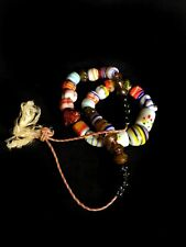 Superb African trade bead necklace with antique Venetian glass beads