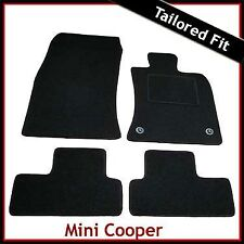 Mini Cooper / Cooper S 2006 2007...2011 Tailored Fitted Carpet Car Mats (2 Clip)