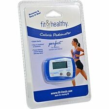 NEW Fit and Fresh Calorie Pedometer