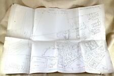 1890 Antik Map Of Heckmondwike Kirklees Yorkshire Victoria Zeche 19th C