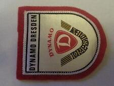 A104 AUFNÄHER SG DYNAMO DRESDEN DFV DDR Sport Fußball Oberliga Ultras Bundesliga