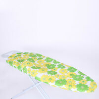 1× Village Ironing Board Cover Floral Printed Pad Thick Reflect Heat 140×50cm