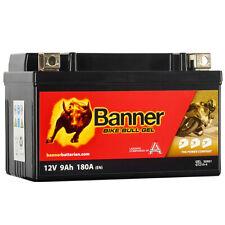 Banner Bike Bull Gel Motorrad Batterie GTZ10-4 YTZ10S YTZ10-S GTZ10S 9Ah 12V