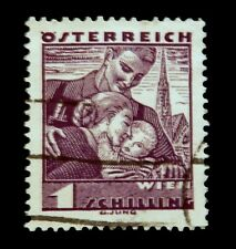 1934-36 Austria / Daily Stamp with Family / Used