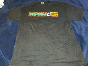 Vintage PAPA ROACH Tour Concert  Shirt XL Black