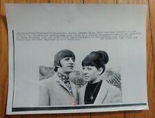 Ringo Starr/Wife Original 1965 Photo for Birth of Zak Starkey. Beatles