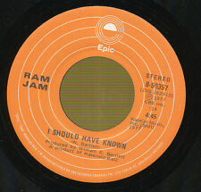 RAM JAM 45 TOURS CANADA I SHOULD HAVE KNOWN