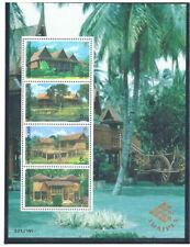 THAILAND 1997 Thai Houses S/S CV $ 17.50