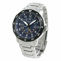 CITIZEN BJ7094-59L PROMASTER LAND SILVER STAINLESS STEEL BLUE DIAL MEN'S WATCH