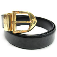 Louis Vuitton belt epi Epireza - �~ GORE - field bracket Auth used T17182