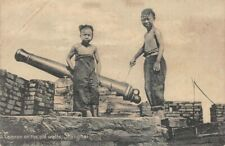 Carte postale CHINE - Cannon on the old walls, Shanghai