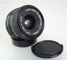 Canon New FD 28mm F/2.8 Manual Focus Prime Wide Angle Lens, Caps, Excellent