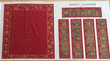 The Joy Of Christmas Label Panel Red 100/% Cotton Fabric Freedom