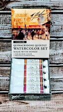 M. Graham Quinacridone Quintet Watercolor 5 Color Paint Set w/Honey (33-QUIN)