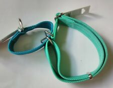 Good2Go Martingale Dog Collars L/XL Blue & Sea Foam Green - New