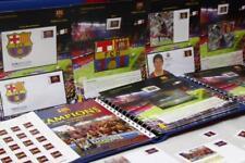 Juego completo sellos FCBARCELONA temporada 2010-2011 football fcb stamps