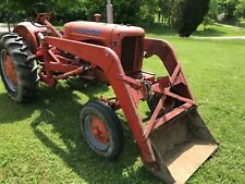 1954 Allis Chalmers WD 45 Tractor Good condition Front End Loader Attachment