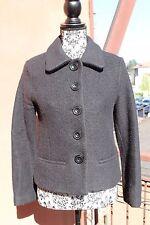 Giacca in lana cotta nera Baby Angel by Fiorucci taglia 42