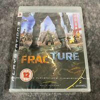 Fracture PS3 PlayStation 3 Game NEW Sealed LucasArts Shooter