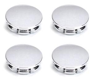 """2-1/16"""" Chrome Wheel Center Caps Set for 08-14 Challenger Magnum 03-18 Wrangler"""