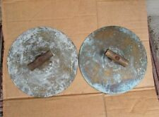 1800's Marching / Stage Band Brass Hand Held Cymbals