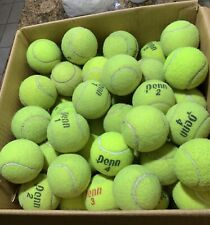 100 Used Tennis balls Practice Dog Toy