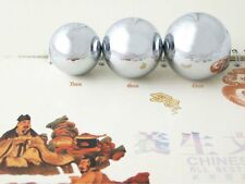Baoding Balls Solid Stainless Steel 45mm 2pcs For Wrist Strengthening Relaxation
