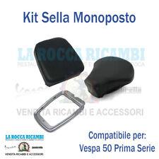 Kit Sella Monoposto Sella+cuscino+piastra Vespa 50 Prima serie 1963-1964-1965